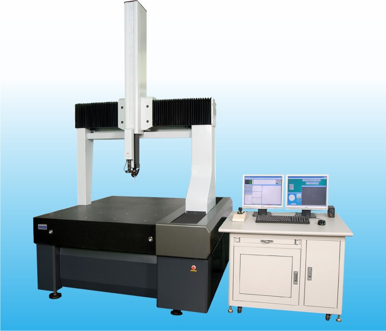 Gantry-Type Integrated 3D Coordinates Measuring Machine