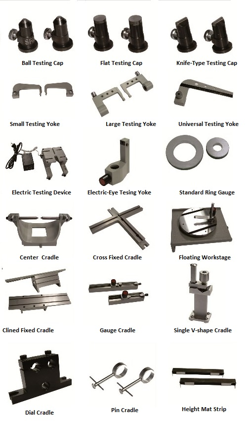 The accessories of Universal Length Measuring Machine
